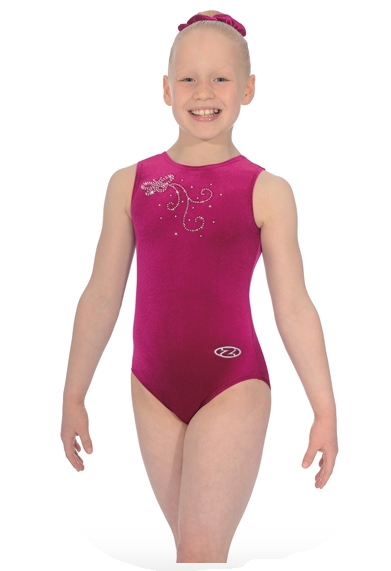 the zone butterfly leotard cerise