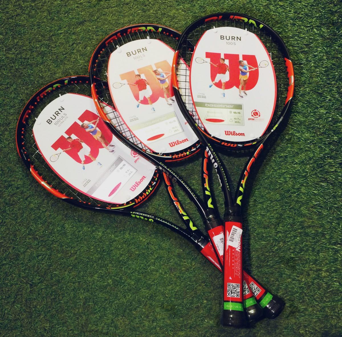 Wilson Burn rackets