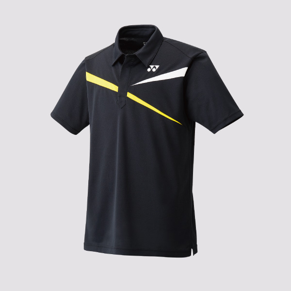 Yonex 10133 Mens Polo Shirt black:yellow