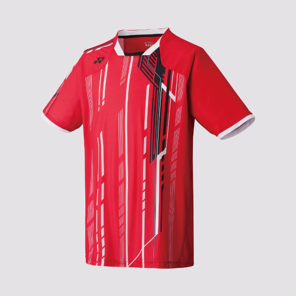Yonex 12098 Mens Tournament Shirt red