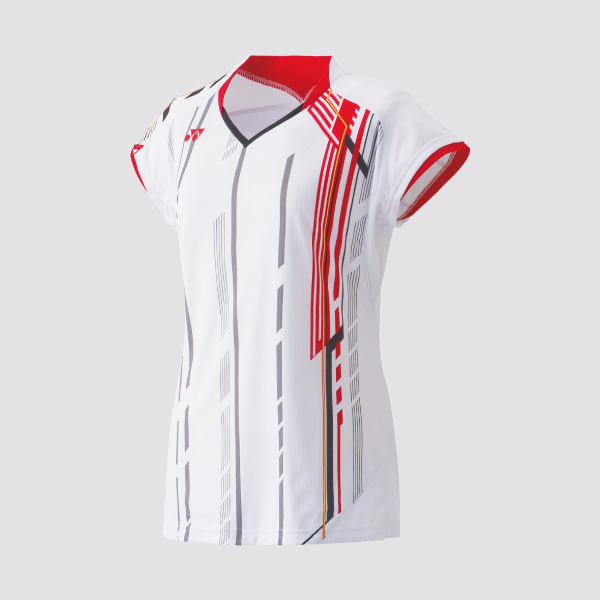 Yonex 20235 Ladies Cap Sleeve Tournament Shirt white