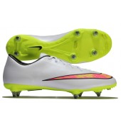 Nike Mercurial Victory V SG Football Boots (White/Volt-Hyper Pink-Black)