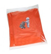 EssentialsClear polythene bags - non stick seal
