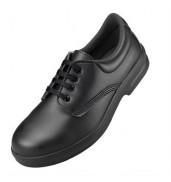 Comfort GripLace up shoe black washable (DK42)