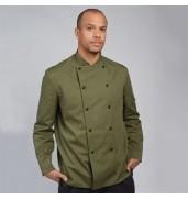 DennysChef's jacket stud button, technicolour long sleeve (DD56)
