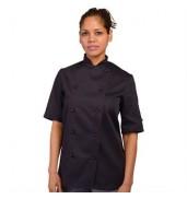 DennysChef's jacket short sleeve with stud button (DD20CS)