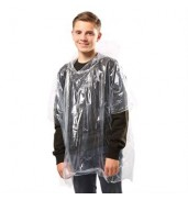 JBKids emergency hooded plastic poncho