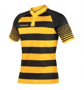 KooGaJunior touchline hooped match shirt