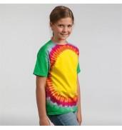 ColortoneKids rainbow sunburst T