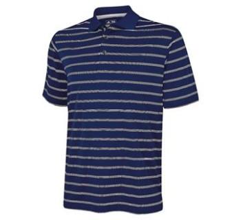 adidas®Textured stripe polo
