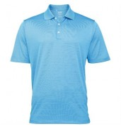 adidas®ClimaLite® textured solid polo