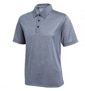 adidas®ClimaLite® heather polo