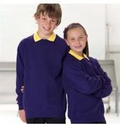 Jerzees SchoolgearKids raglan sleeve sweatshirt