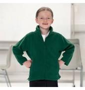Jerzees SchoolgearKids full-zip outdoor fleece