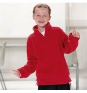 Jerzees SchoolgearKids ¼ zip outdoor fleece