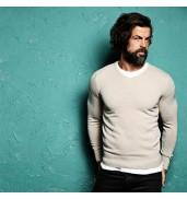 Affordable FashionRenold - Cashmilon v-neck jumper