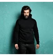 Affordable FashionDeancross - Cowel hooded sweatshirt