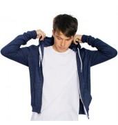American Apparel®Triblend terry zip hoodie (TRT497)
