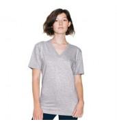 American Apparel®Fine Jersey short sleeve v-neck (2456)