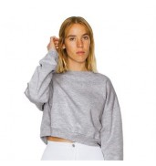American Apparel®California fleece cropped sweatshirt (5336)