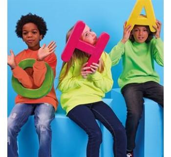 AWDis HoodsKids electric sweatshirt