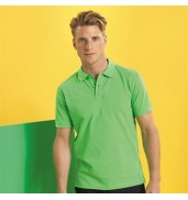 Asquith & FoxMen's poly/cotton blend polo