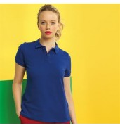 Asquith & FoxWomen's poly/cotton blend polo