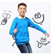 AWDis AcademyKids Academy raglan sweatshirt