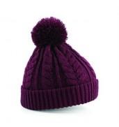 BeechfieldCable knit snowstar beanie