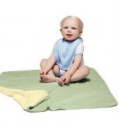 Bella+CanvasReversible baby rib blanket