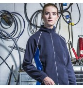 Finden & HalesWomen's piped microfleece jacket