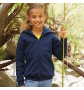 Fruit of the LoomPremium 70/30 kids hooded sweatshirt jacket