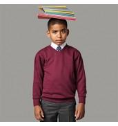 Jerzees SchoolgearKids v-neck sweatshirt