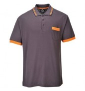 PortwestTexo contrast polo shirt (TX20)