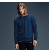 AnvilAnvil crew neck French terry sweatshirt