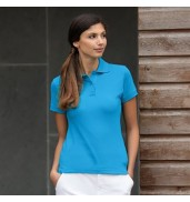 HenburyWomen's stretch piqué polo shirt