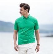 Henbury65/35 Classic piqué polo shirt