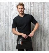 BargearCafe bar top v-neck short sleeve
