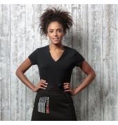 BargearWomen's cafe bar top t-shirt short sleeve