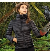 2786Women's contour quilted jacket