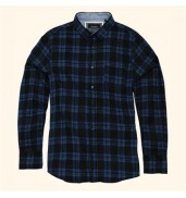 _bravesoulDuffey - long sleeve check shirt