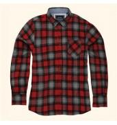 _bravesoulGarvey - long sleeve check shirt