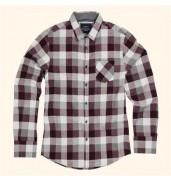 _bravesoulPersuader - long sleeve check shirt