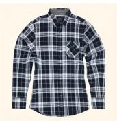_bravesoulIvory - long sleeve check shirt