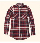 _bravesoulCharles - Women's multi check flannel shirt