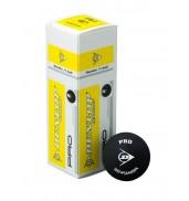 Dunlop Pro Squash Ball (Tube of 3 Balls)