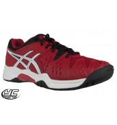 ASICS Gel Resolution 6 GS Tennis Shoes (C500Y-2390 Fiery Red)