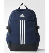 adidas BP Power III Backpack (AY5092 Navy/White)
