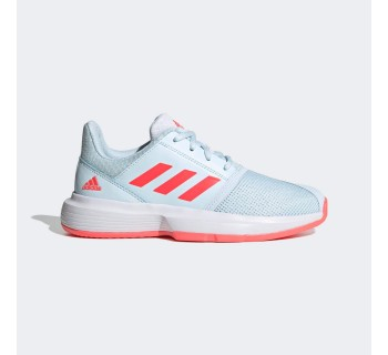 Adidas CourtJam xJ JR FX1490 WHITE/SCREAMING PINK/ACID ORANGE