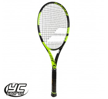 Babolat Pure Aero Tennis Racket (Black/Yellow, 2015)